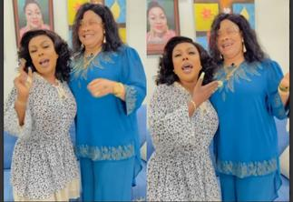 Ghanaians React After Seeing Afia Schwarzenegger Hanging Out With Nana Agradaa