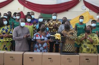 Ursula Tours GIFEC Projects in the Western North Region