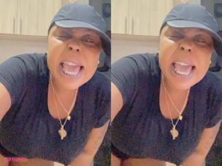 Afia Schwarzenegger Heavily Boozed and Spitting In Videos After Delay Trolled her and Tracey Boakye