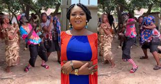 Lilwin: Actor Leads Older Actresses in Displaying Beautiful Dance Moves in new Video ▷ Ghana news