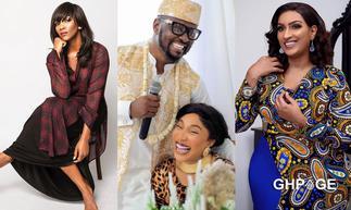 Juliet Ibrahim and Genevieve Nnaji among celebs Tonto Dikeh's ex-lover, Prince Kpokogiri has chopped