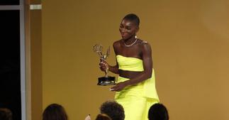 Ghanaian-Brit actress becomes first black woman to win an Emmy for Best Writing