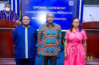 Huawei Trains MOI Staff On Information Technology And Digitalization