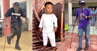 Lil Win: Kumawood Actor Flaunts His Handsome 4th Son On His Birthday; Says He Is Lucky To Have Him ▷ Ghana news