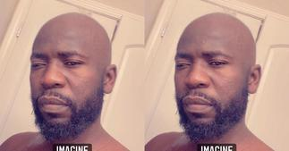 Social media burst out laughing as Bisa Kdei goes bald