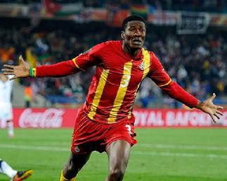 Asamoah Gyan and other Ghanaian legends miss out on top African goal scorers chat