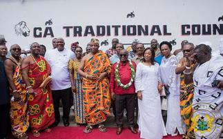'I'm excited there's a Ga Mantse in my time as president'- Nana Addo