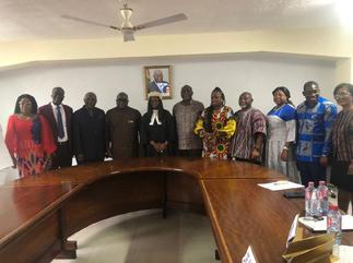New board of Ghana Free Zones Authority sworn in
