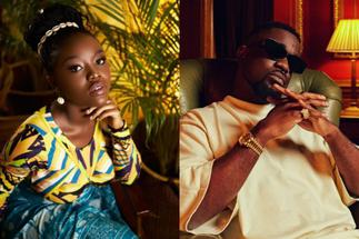 Fans React As Sarkodie and Gyakie Link Up In London