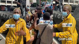 Emotional moment as court remands Medikal; Fella Makafui cries throughout court session