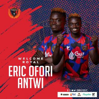 OFFICIAL: Goalkeeper Eric Ofori Antwi joins Legon Cities