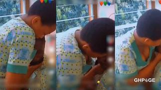 SHS girl caught on tape forcing to kiss boyfriend during class hours-Video