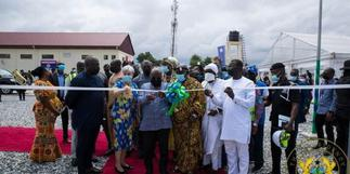 Nana Addo commissions Ghana's largest bulk electricity point at Pokuase
