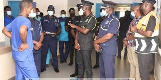 IGP in Tamale to visit officers involved in accident while on duty