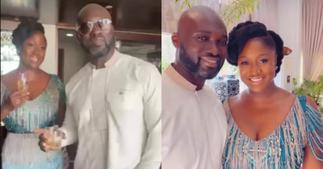 Edwina: Video of Akufo-Addo's Daughter Asking her Husband Jumah to take off his Glasses pops up ▷ Ghana news