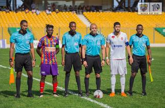 CAF Champions League: CAF president assures of fair officiating in WAC vs Hearts game