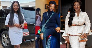 Jackie Appiah: 5 photos of Actress' son Damien Looking so tall at 15 Years ▷ Ghana news