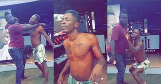 Shatta Wale takes over No Bra Day as he drops funny video flaunting chest; fans laugh ▷ Ghana news