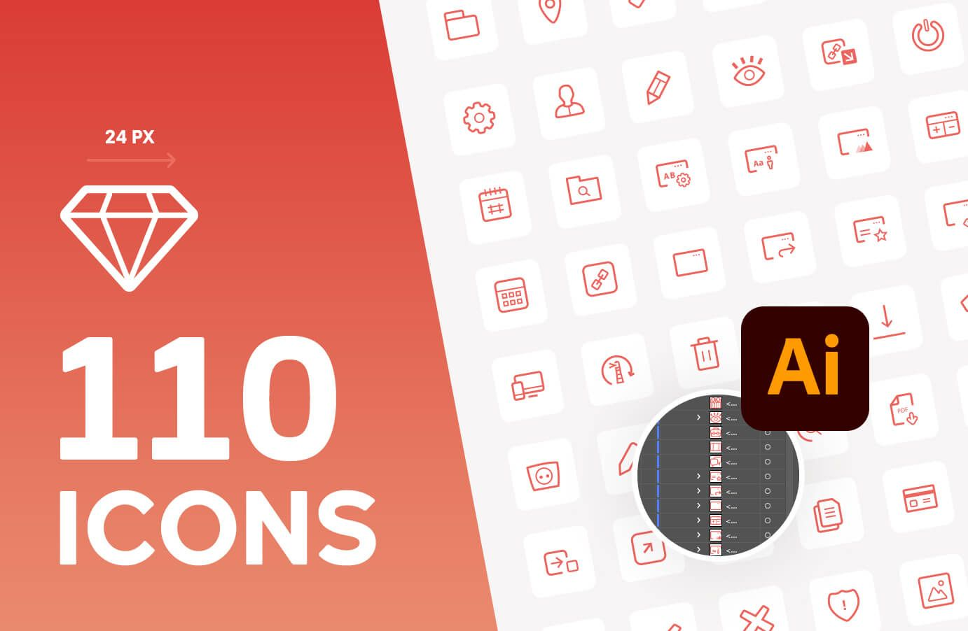 Free SVG icons 24px package