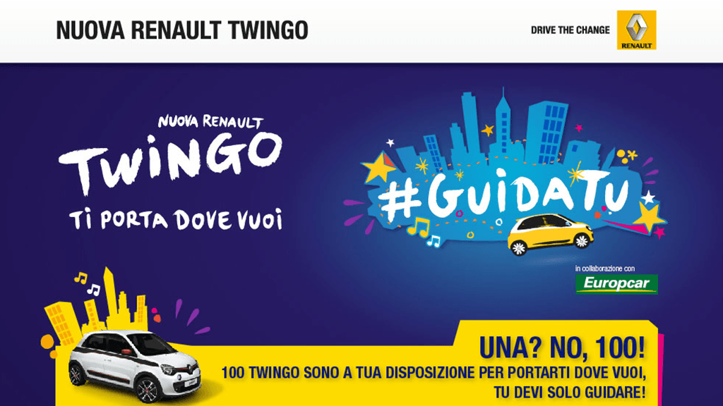 Renault Twingo Social Test Drive