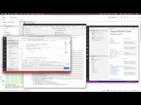 VSC Extension: refreshing teams   GitDuck
