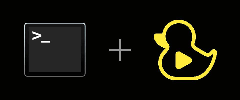 WebStorm and GitDuck logos