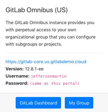 GitLab Omnibus Card