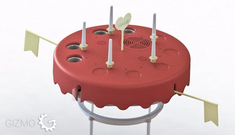 פטנט עוגת יום הולדת דינאמית