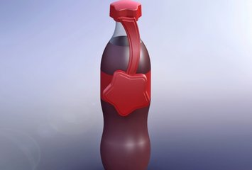 פקק חכם עבור חברת קוקה-קולה