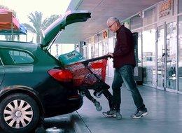 TopCart - עגלת קניות מתקפלת