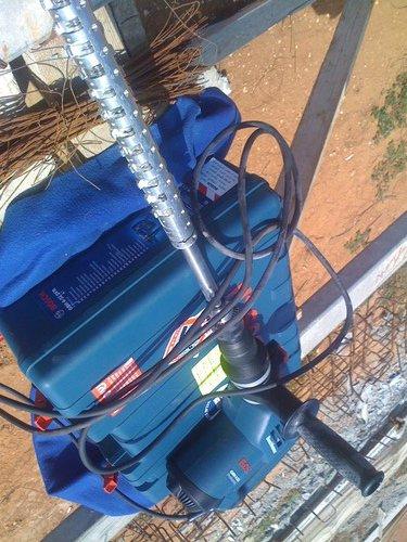 פטנט תעשייתי - חורץ בטון מכני