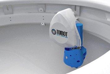 Toibot - מכשיר שמנקה את האסלה בצורה אוטומטית