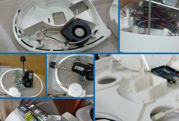 רובוט לניקוי וחיטוי אסלה SpinX