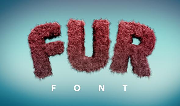 Fur Font - 8