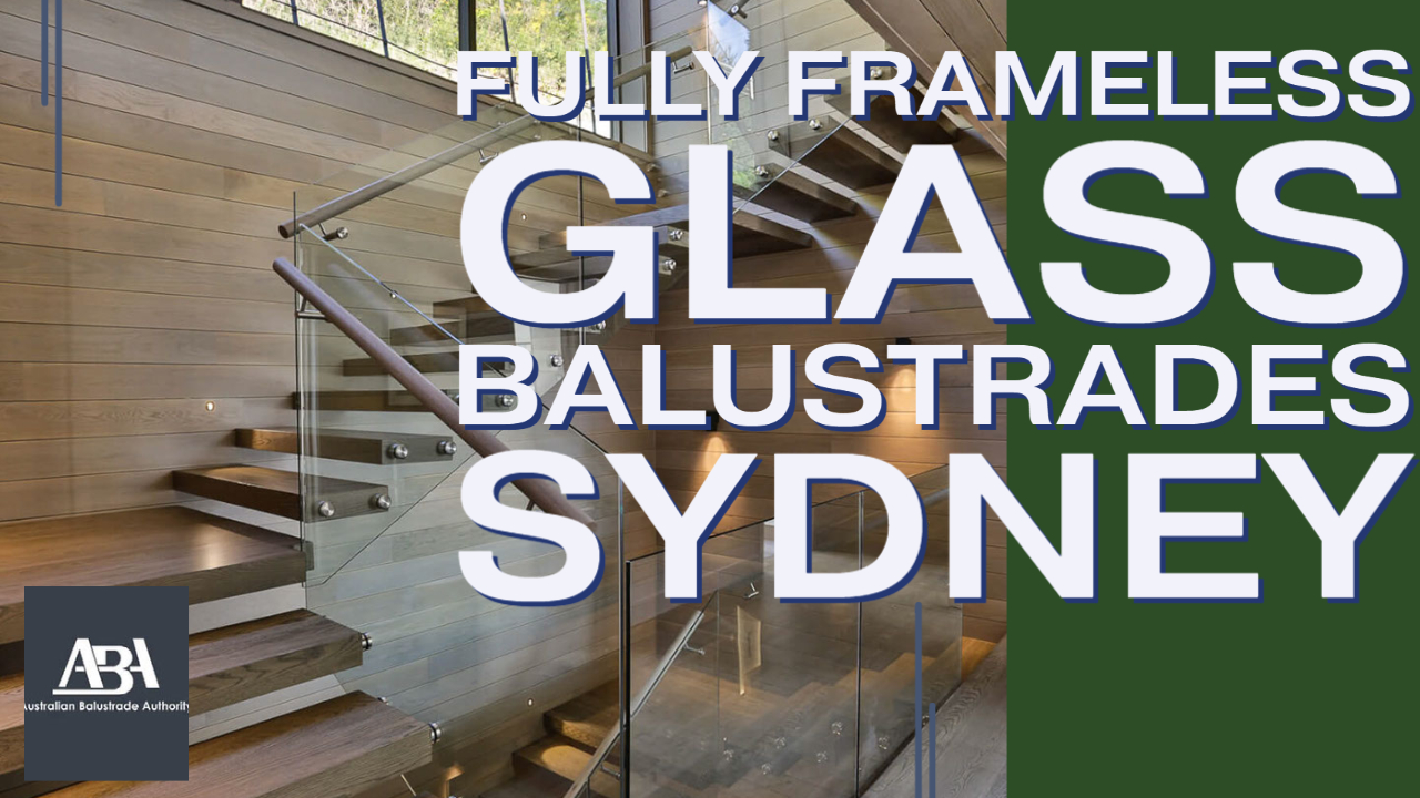Lower North Shore Glass Balustrade Essembly