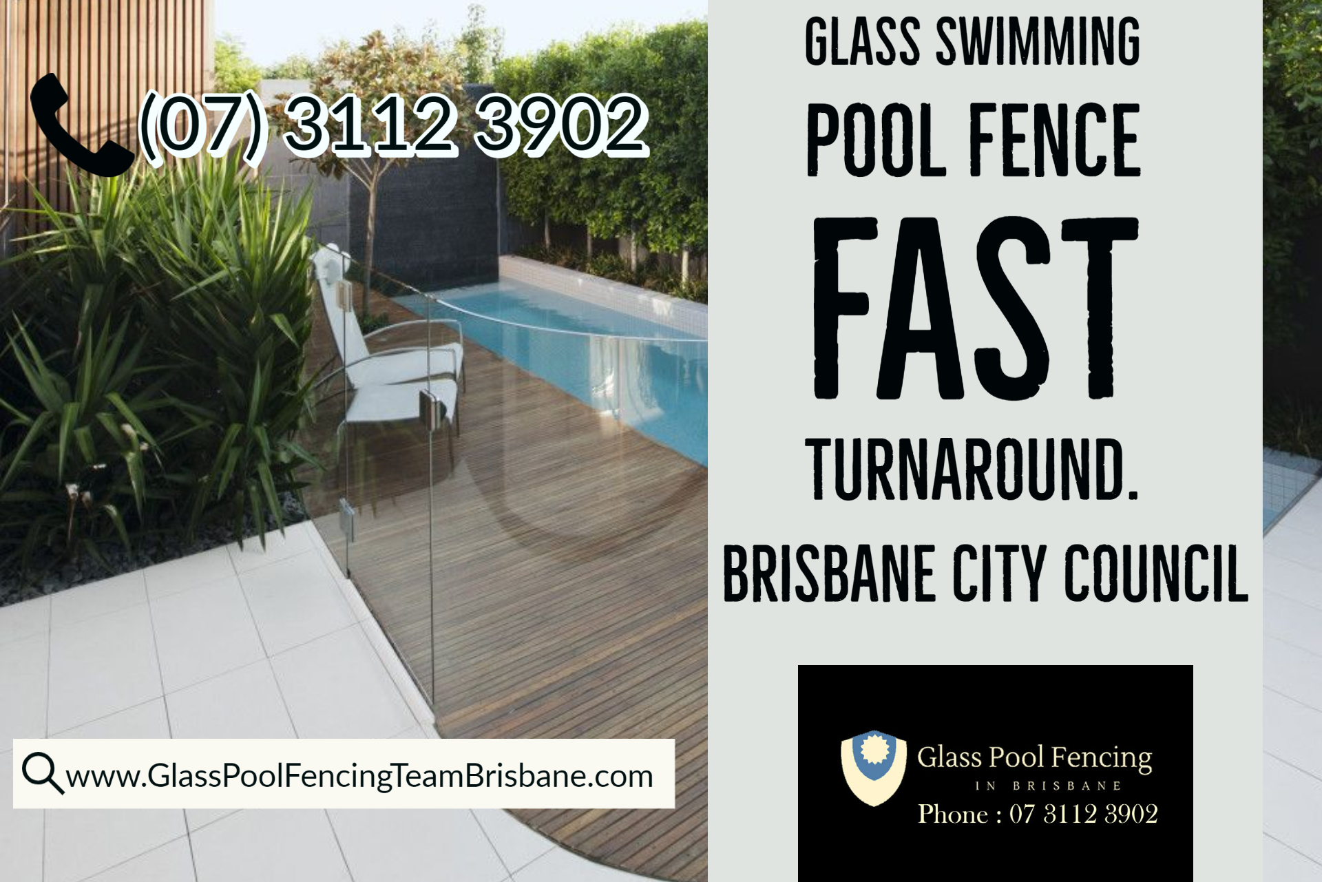 Concrete Footing Installation For Glass Pool Fence Free Council Compliant Certification
