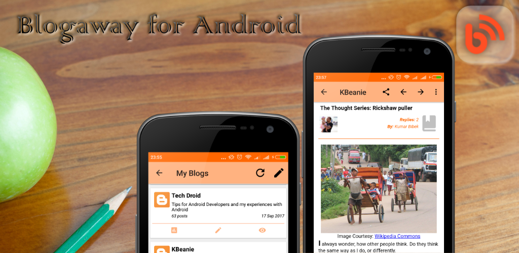Blogaway for Android