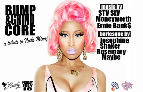 bump and grindcore nicki minaj tribute