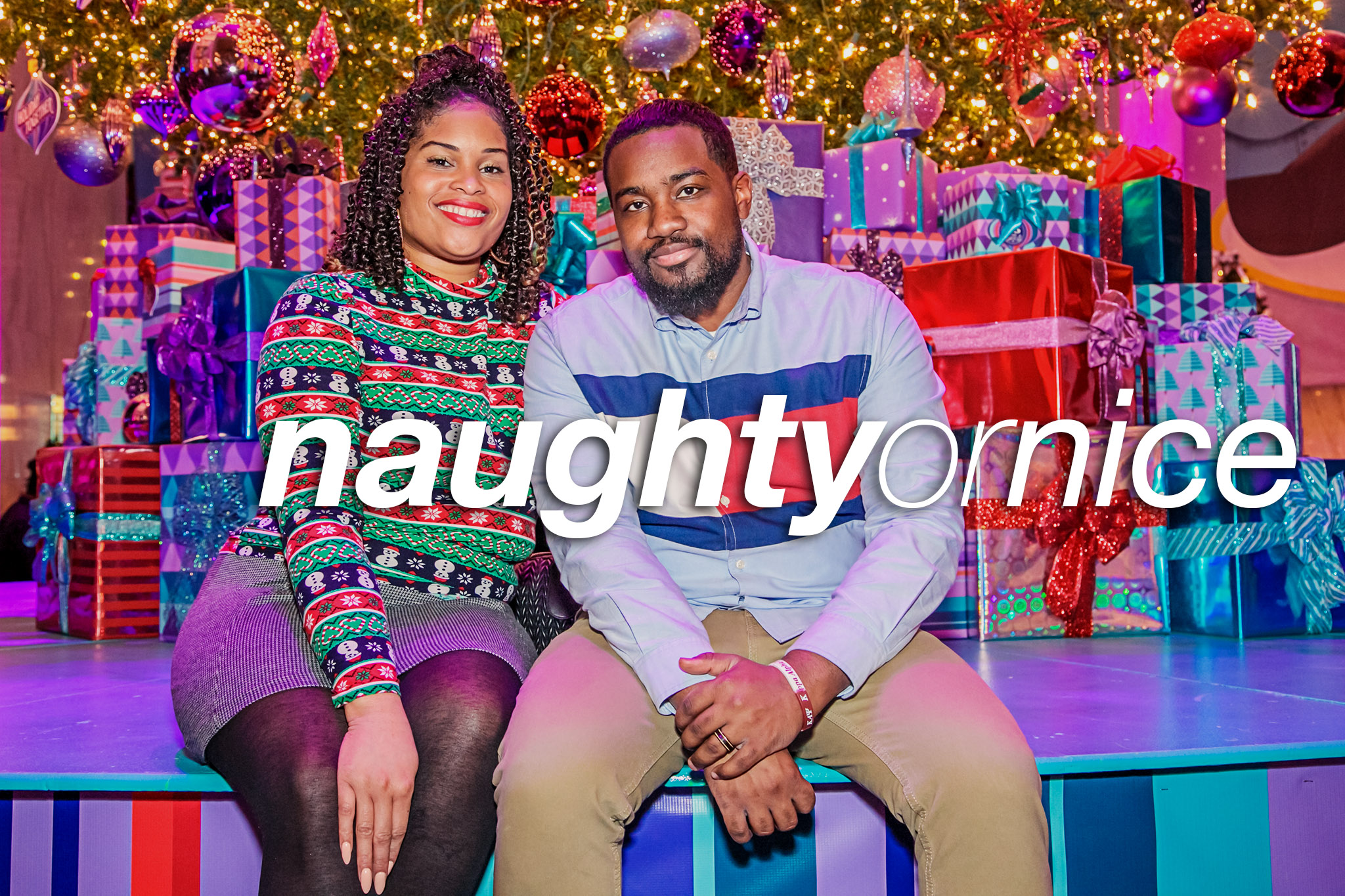 Naughty or Nice at the Museum of Science and Industry