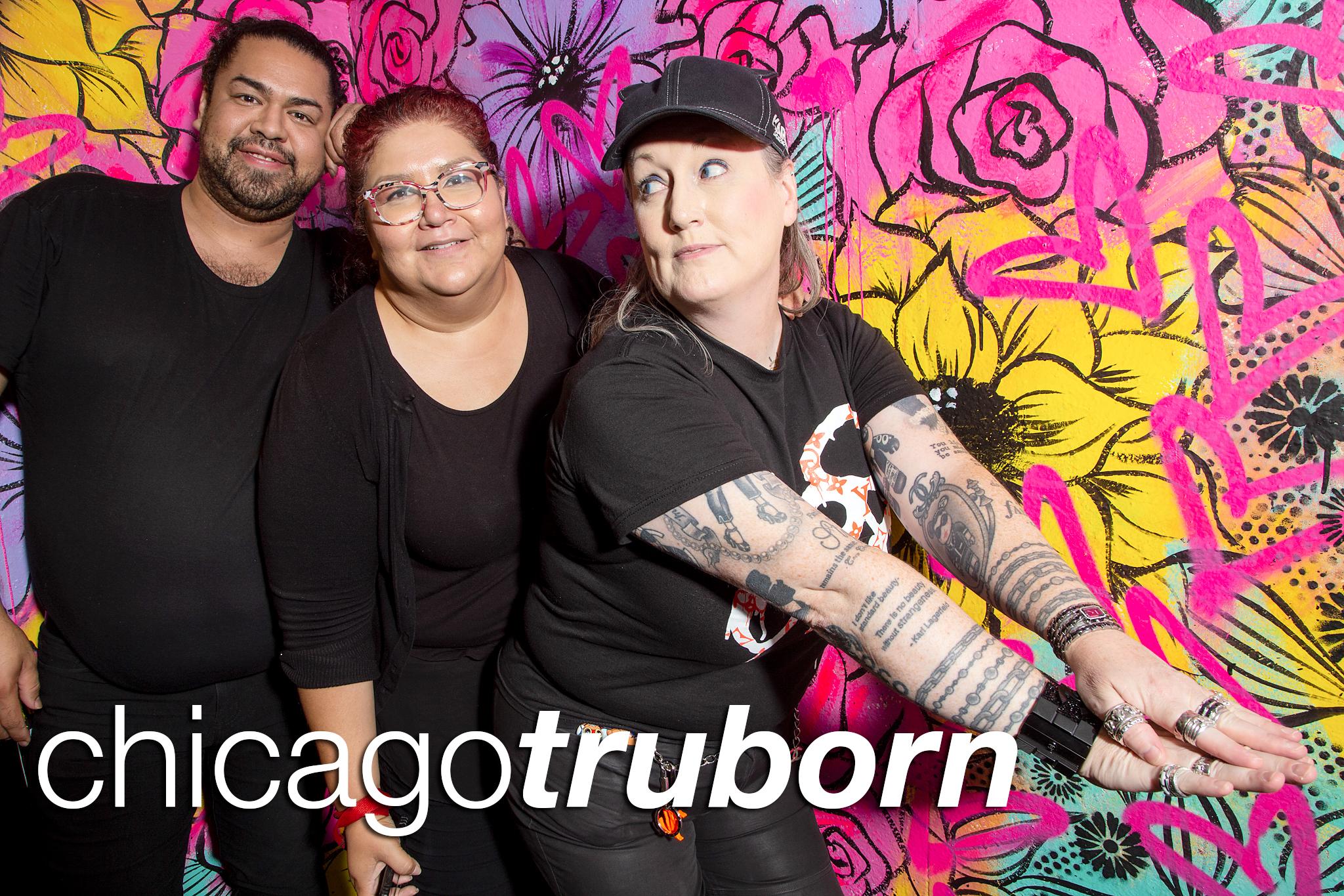 glitterguts portrait booth photos from chicago truborn's 8th anniversary, glitterguts 2021