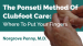 The Ponseti Method Of Clubfoot Care׃ Where To Put Your Fingers