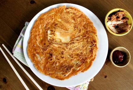 Mouthwatering Korean Kimchi Pancakes from VeenasMarket