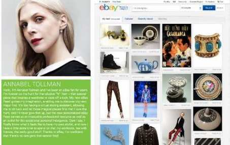 eBay acts like a Pinterest competitor by updating their design to the same style