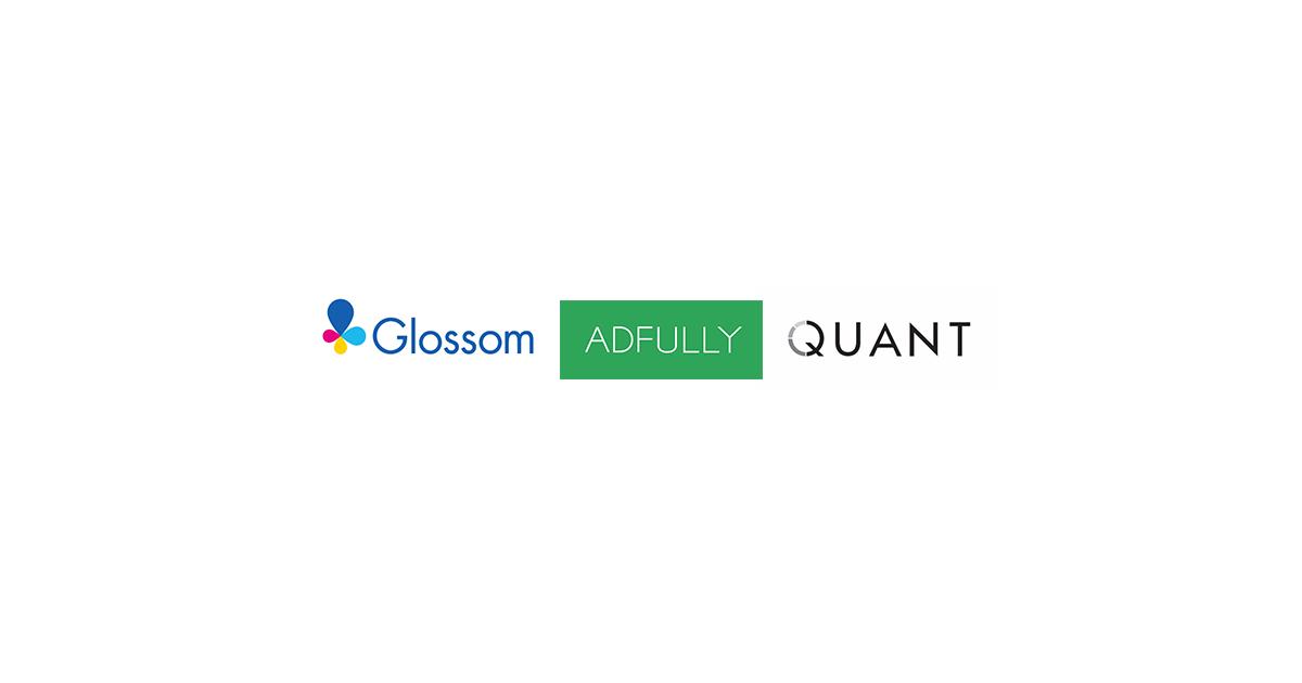Glossom、ADFULLYとクオントを吸収合併し、デジタルマーケティング支援事業を加速