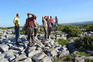 volunteer-wardens-burren-way-hiking-in-ireland