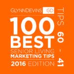 2016's 100 Best Senior Living Marketing Tips (Part III)