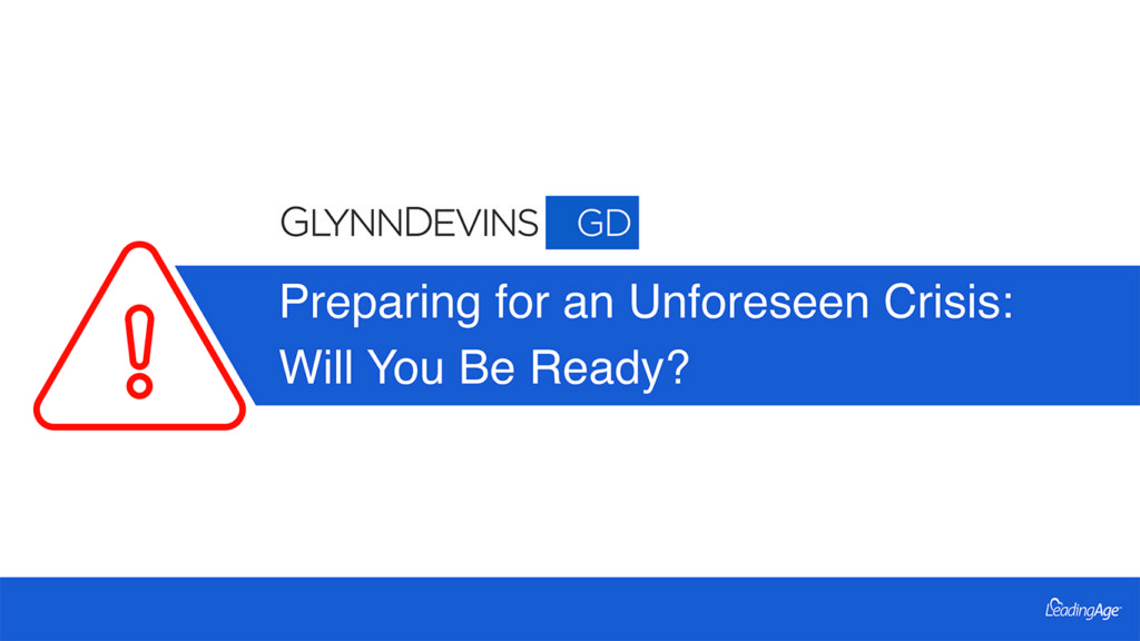 Preparing for an Unforeseen Crisis: Will You Be Ready?
