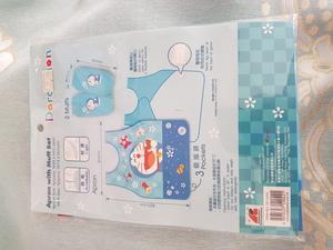 開學巡禮/港版正品//幼兒/ 多啦a夢/叮噹 Doraemon/圍裙連手袖/$59-1pc/ 沙田乙明村您冢城舖/www.arpyema.hk