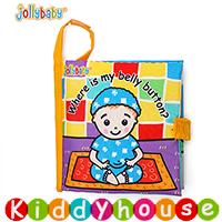 bb嬰兒玩具~JollyBaby小寶寶認識身體早教英文布書 T333N 現貨
