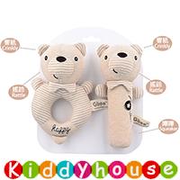 bb嬰兒玩具~可愛小動物手搖鈴棒棒手環搖鈴套裝 T662 現貨